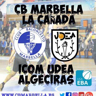 La plantilla del CB Marbella hace un llamamiento a la afición para el encuentro del sábado ante Algeciras