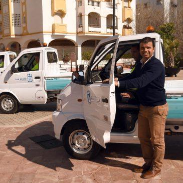 Limpieza da un nuevo paso para atender las demandas vecinales con la adquisición de cuatro nuevos vehículos versátiles