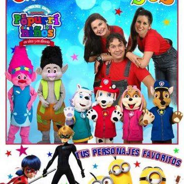 El Palacio de Congresos acogerá este domingo el espectáculo infantil 'El popurrí de los niños'