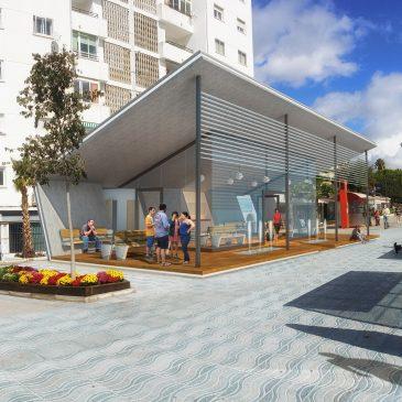 El teniente de alcalde sampedreño ha visitado la delegación de Carreteras en Málaga para agilizar el proyecto de la nueva estación de autobuses