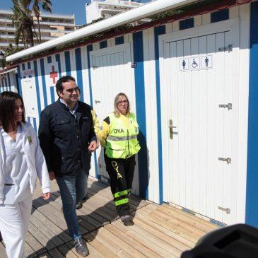 El Ayuntamiento presenta el dispositivo de socorrismo de Semana Santa para garantizar la seguridad en el litoral del municipal