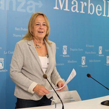"""El Psoe presentará una moción para declarar marbella municipio """"sacrificio cero"""""""