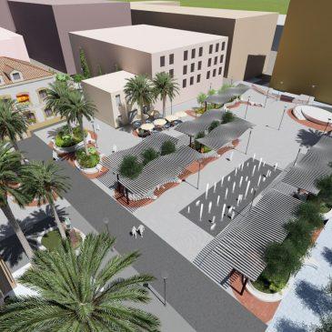 La Tenencia de Alcaldía de San Pedro acometerá la remodelación integral de la Plaza de la Iglesia mejorando las infraestructuras y dotándola de más zonas verdes y de sombra