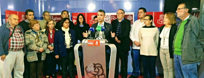 """EL PSOE RECUERDA AL GOBIERNO EL """"ABANDONO"""" DE INVERSIONES POR PARTE DEL PARTIDO POPULAR Y LES INSTA A CUMPLIR SUS COMPROMISOS"""
