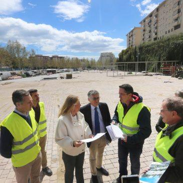 El Ayuntamiento finalizará en el mes de mayo las obras del bulevar de Arroyo Primero