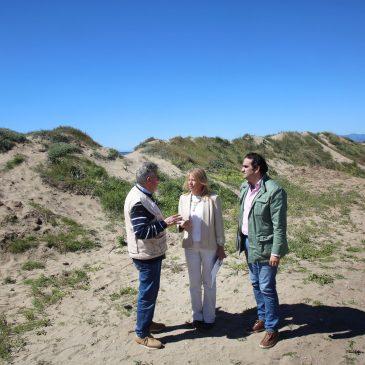 El Ayuntamiento firmará un acuerdo con la asociación Produnas para consensuar todas las actuaciones que afecten al sistema dunar de Marbella
