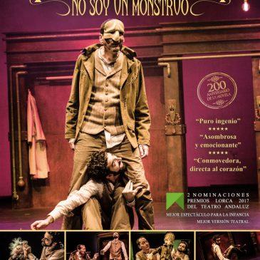 """El Teatro Ciudad de Marbella acoge este domingo la obra """"Frankenstein. No soy un monstruo"""", dirigida al público familiar"""
