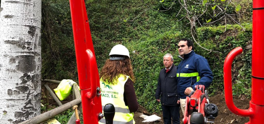 Acosol realiza una inversión en Istán que permitirá la mejora del abastecimiento de agua al casco urbano y que forma parte del plan de inversiones  •La actuación valorada por 50.000€ está incluida dentro del plan de inversiones para este 2018 en el que se invertirán más de 2,5 millones de euros en el término municipal de Istán.
