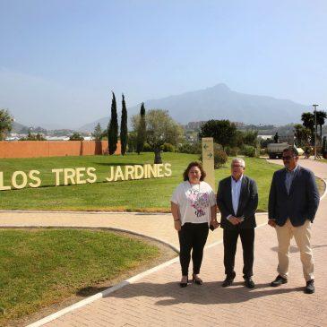 El Parque de los Tres Jardines reabre sus puertas tras tres semanas de intenso trabajo en materia de sanidad y mantenimiento