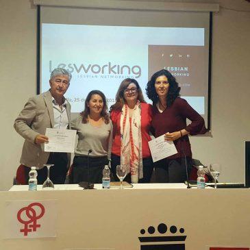 El Cortijo Miraflores acogió una charla coloquio con motivo del Día Internacional de la Visibilidad Lésbica