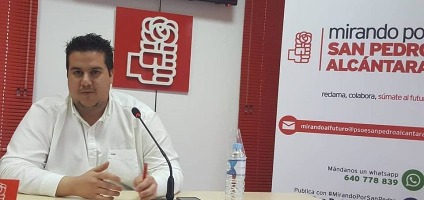 EL PSOE PREGUNTA POR LA UBICACIÓN DE LA CELEBRACIÓN DE LA FERIA DE SAN BERNABÉ