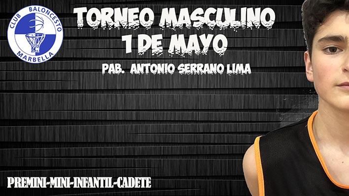 En marcha el III Torneo CB Marbella del mes de mayo, esta vez en categoría masculina