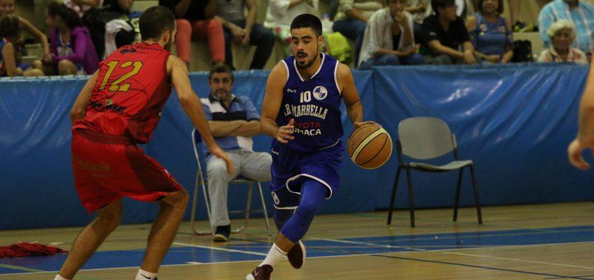 """Club baloncesto marbella  Ferni Ferruz: """"Tenemos ilusión por competir, la presión no va con nosotros"""""""