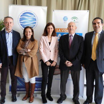 ACOSOL ha sido la anfitriona en una intensa jornada de trabajo organizada junto a la La Asociación de Abastecimientos de Aguas y Saneamientos de Andalucía