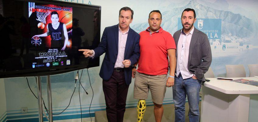 El Ayuntamiento respalda la octava edición del Campus Gaber de baloncesto, que se celebrará del 1 al 7 de julio