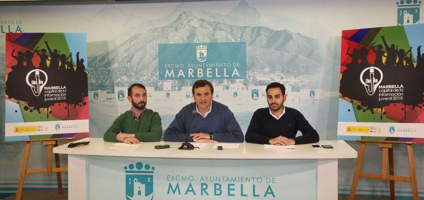 El Instituto de la Juventud designa a Marbella como Capital Nacional de la Información Juvenil 2018