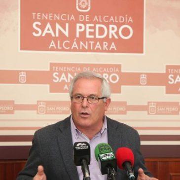 Rafael Piña recuerda al PSOE que para obtener la licencia de obra del instituto primero tienen que solicitarla