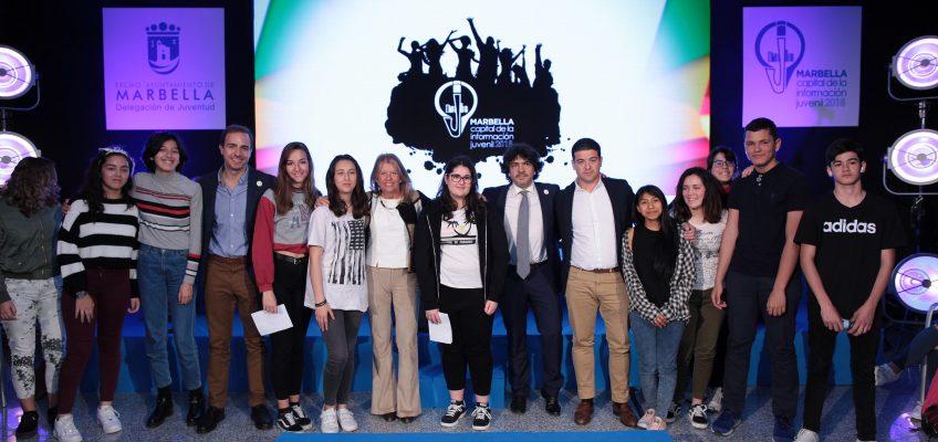 Más de 200 estudiantes celebran en Marbella el Día Europeo de la Información Juvenil   La alcaldesa ha participado esta mañana en el acto central a nivel nacional celebrado en el Palacio de Ferias y Congresos junto al secretario de Estado de Asuntos Sociales e Igualdad, Mario Garcés, y el director de Injuve, Javier Dorado