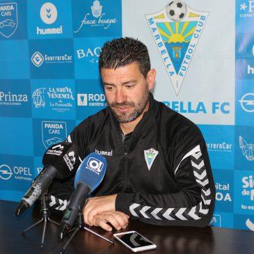 """stévez: """"Si queremos tener una opción real y bonita de playoff, tenemos que ganar en Écija"""" Marbella"""