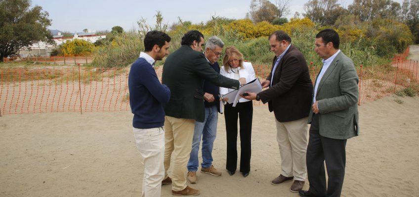 Arrancan los trabajos de acondicionamiento y regeneración en el entorno dunar del hotel W Marbella