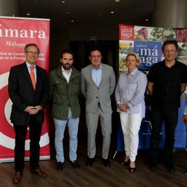 Empresas malagueñas se reúnen con importadores alemanes en una acción comercial promovida por 'Sabor a Málaga' y la Cámara de Comercio La actividad se enmarca en el convenio suscrito en marzo para la impulsar la exportación de productos agroalimentarios locales a Alemania