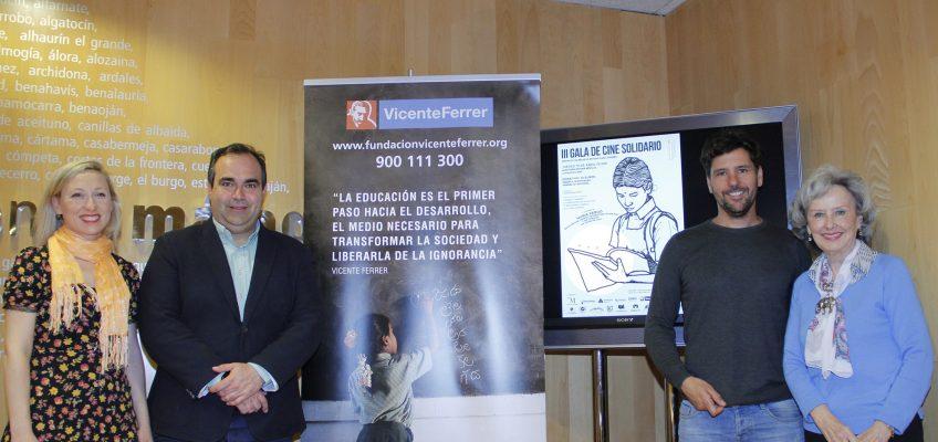 El Auditorio Edgar Neville de la Diputación acoge la III Gala de Cine solidario a beneficio de la Fundación Vicente Ferrer La celebración tendrá lugar el jueves 19 de abril a las 19:30 horas
