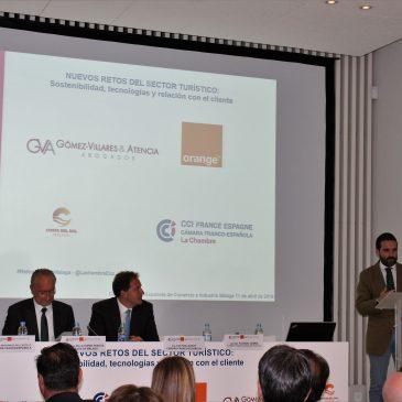 """Turismo Costa del Sol expone su estrategia digital en el marco de la conferencia """"Nuevos retos del sector turístico"""" Las jornadas están organizadas por la Cámara Franco-Española de Comercio e Industria"""