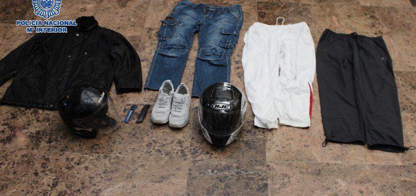 En Málaga  La Policía Nacional detiene a un hombre por la comisión de ocho atracos con arma blanca en establecimientos comerciales de la capital