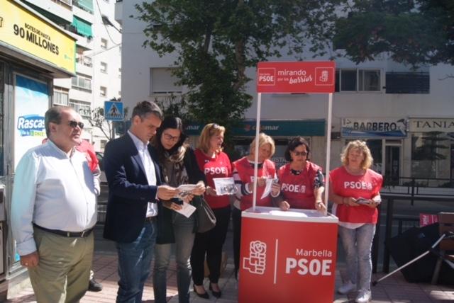 """EL PSOE INICIA UNA CAMPAÑA PARA INSTAR A QUE SE ACOMETA """"DE INMEDIATO"""" LA REFORMA INTEGRAL DE LA AVENIDA DEL TRAPICHE"""