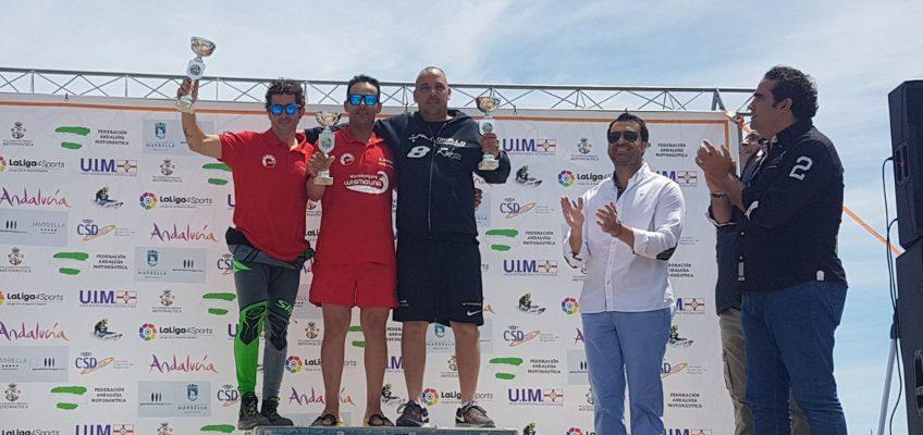Marbella acoge con éxito la II Prueba del Campeonato de España y Andalucía de Motos de Agua