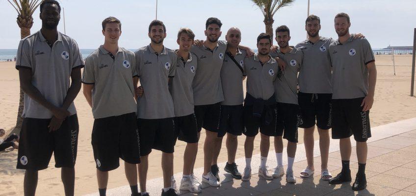 Club baloncesto marbella  Así respira la plantilla del CB Marbella en las horas previas al debut ante CB Villarrobledo