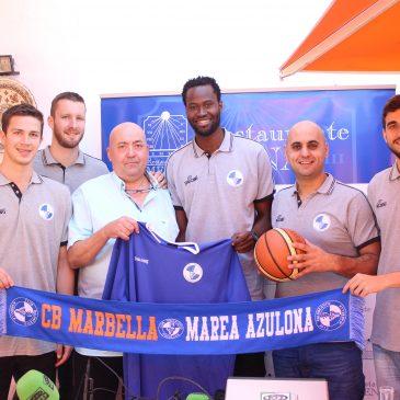 Club baloncesto marbella  Media Day de altura en Restaurante Mena antes de viajar a Gandía