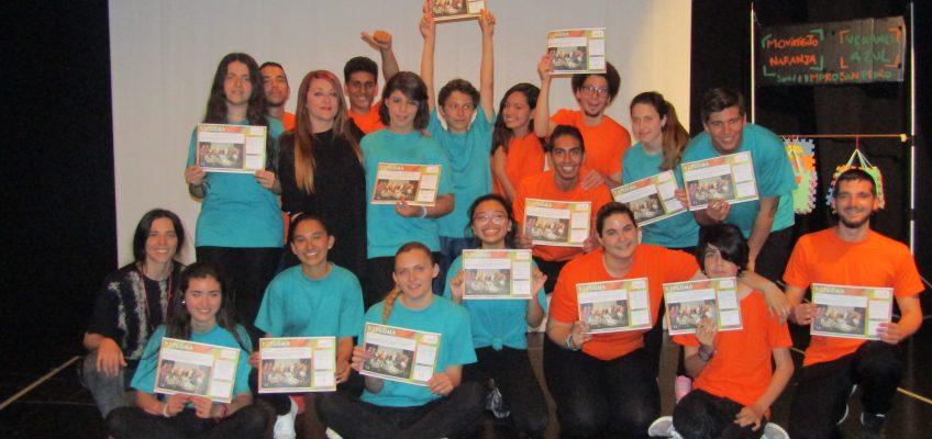Midón asistió a la clausura del Taller de Iniciación a la Improvisación en el que han participado alrededor de una veintena de jóvenes