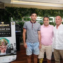 Marbella acogerá el 2 de junio el Campeonato de Europa de Artes Marciales con el protagonismo de varios luchadores locales