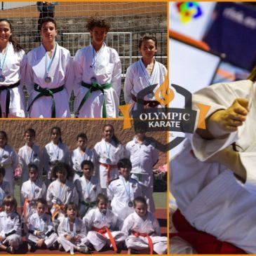 Olympic Karate Marbella consigue el Nº 1 del Ranking Nacional  Junior  y 29 medallas provinciales  el mismo fin de semana