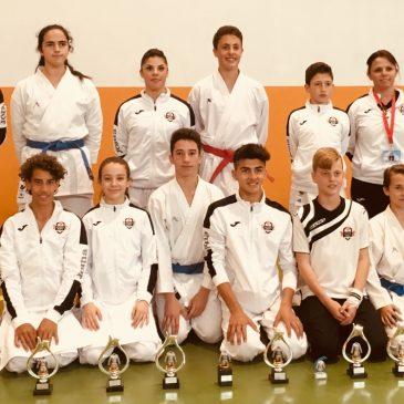 Olympic Karate Marbella se alza con 10 títulos de la  Liga Provincial