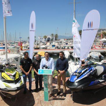 Cerca de un centenar de pilotos participará en Marbella del 11 al 13 de mayo en la II Prueba del Campeonato de España y Andalucía de Motos de Agua