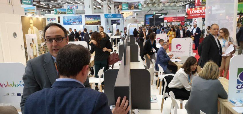 La Costa del Sol da a valer sus credenciales en el segmento de congresos y reuniones en la feria IMEX de Frankfurt La llegada de pasajeros procedentes de Alemania crece un 14,3% entre los meses de enero de 2018
