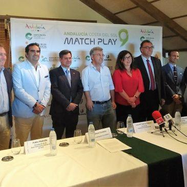 La Costa del Sol pone en valor el potencial del segmento de golf en la presentación del Andalucía Match Play 9 Un total de 24 jugadores españoles se dan cita en este evento del Challenge Tour en el Valle Romano Golf & Resort de Estepona