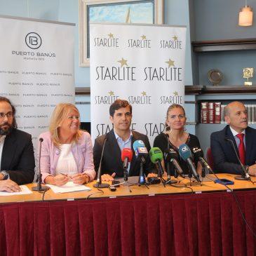 """La alcaldesa resalta el impacto económico y mediático del evento  y asegura que Starlite Festival """"es muy beneficioso para la marca Marbella y para el nombre de España"""""""