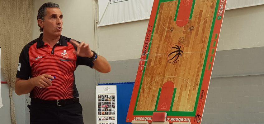 El CB Marbella, presente en el XI Clinic Internacional de Baloncesto Fundación Cesare Scariolo