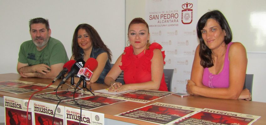 Diferentes estilos musicales llenarán las calles de San Pedro el 21 de junio en un evento organizado por Cultura con motivo del Día Europeo de la Música