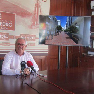 La Tenencia de Alcaldía de San Pedro atiende la petición vecinal y comenzará las obras de calle Pizarro en septiembre