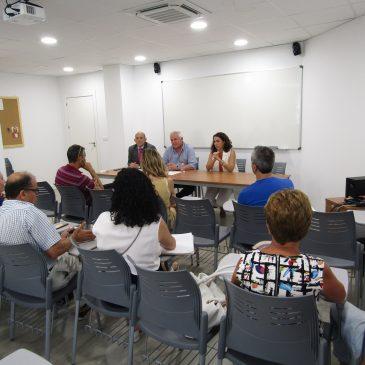 La Tenencia de Alcaldía de San Pedro se reúne con los administradores de Nueva Alcántara para trasladarles las próximas actuaciones en sus parcelas
