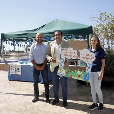Marbella se suma a la campaña 'Si no la vas a usar, no la dejes escapar' para concienciar a la población sobre la importancia del ahorro de agua