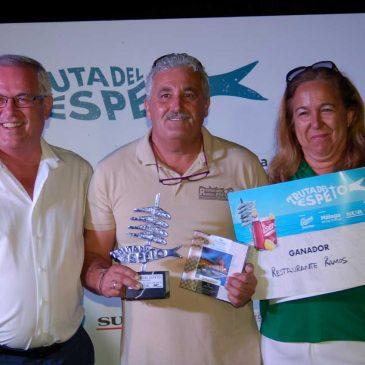 El teniente alcalde de San Pedro acude a la entrega de premios de la segunda edición de la Ruta del Espeto