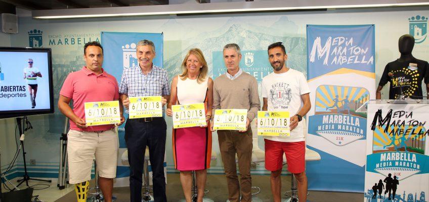 La XXXIII Media Maratón de Marbella tendrá lugar el 6 de octubre y será puntuable para el Campeonato de Andalucía por primera vez en su historia