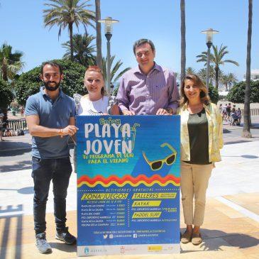 El programa de ocio alternativo 'Playa Joven' ofertará actividades y talleres al aire libre en Marbella y San Pedro Alcántara del 5 al 31 de julio