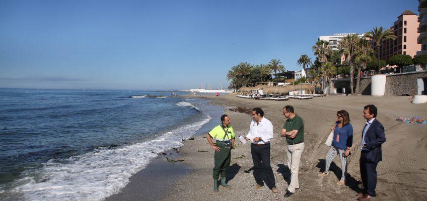 Los controles de calidad del agua certifican que las playas del municipio son aptas para el baño  Se realizan 224 analíticas a lo largo de todo el año, una campaña que se intensifica desde el 15 de mayo al 15 de septiembre, para mantener un control exhaustivo sobre la zona