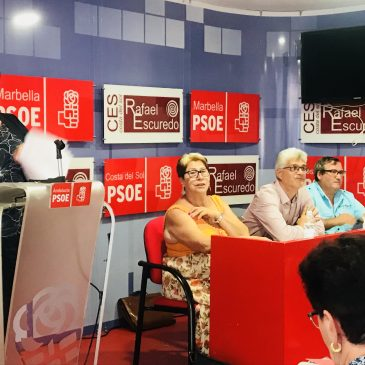 LA ASAMBLEA DEL PSOE CIERRA FILAS EN TORNO AL OBJETIVO DE LOGRAR LA ALCALDÍA Y MARCA LA ESTRATEGIA DE CONTINUAR TRABAJANDO EN LOS BARRIOS